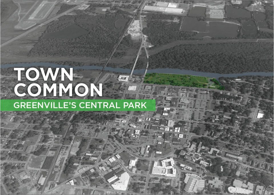 Town Common Aerial