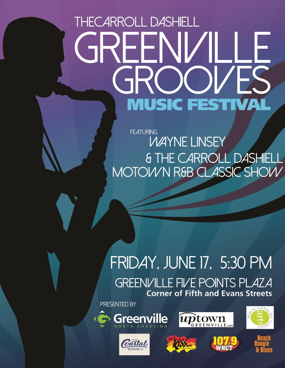 Greenville Getting Ready to Groove Again