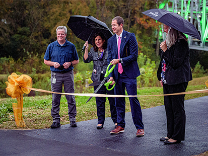 City Celebrates Town Creek Culvert Completion
