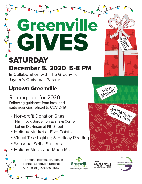 Greenville Gives flyer new