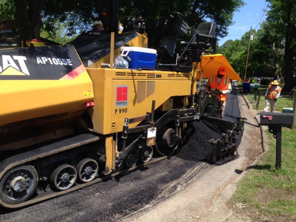 Repaving Arlington Circle