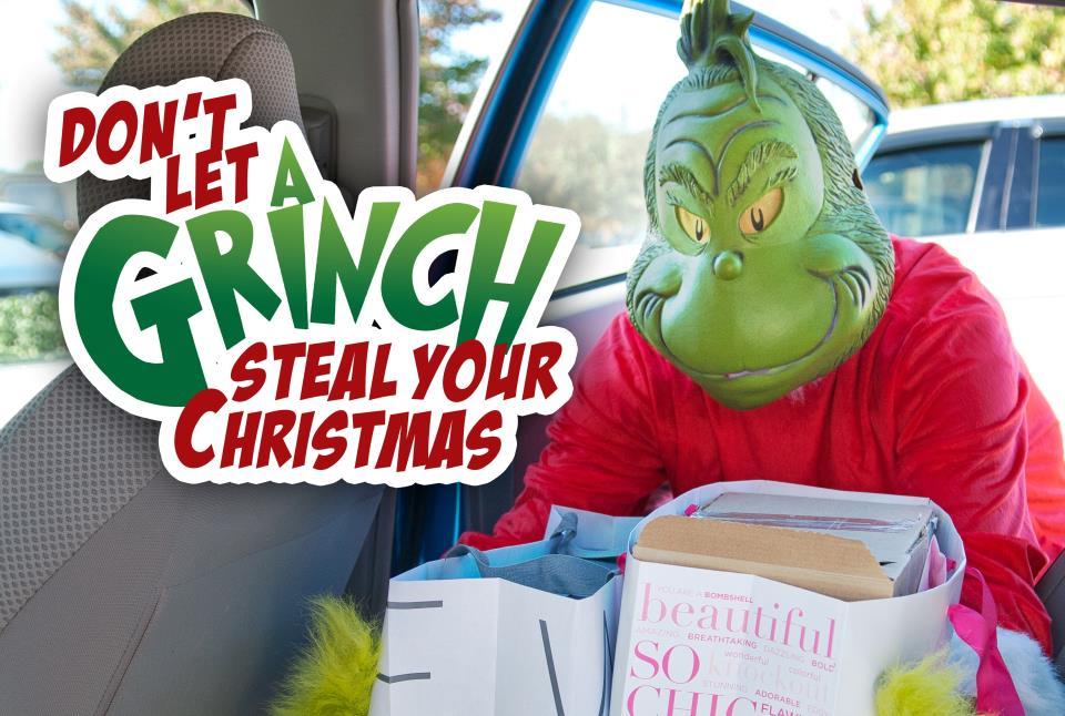 Grinch Car Poster2