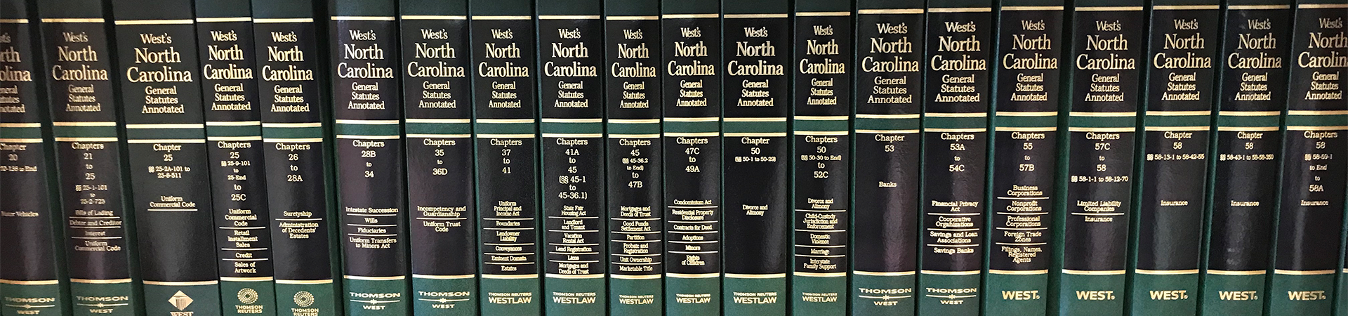 State statutes books on shelf